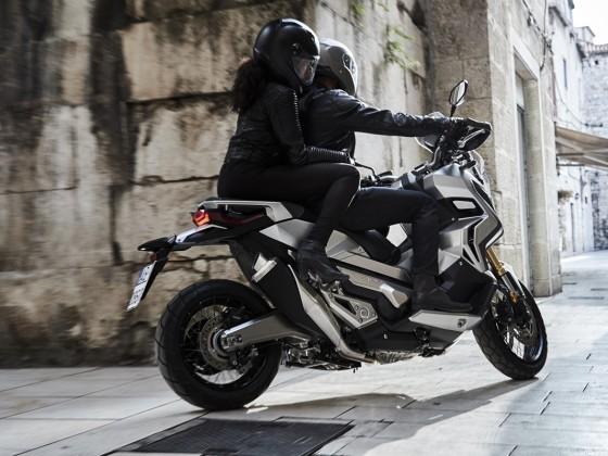 Impressionen des X-ADV von Honda